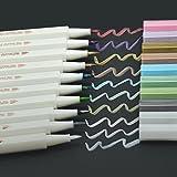 Metallic Marker Stift Aquarell