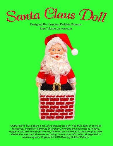 Santa Claus Doll: Plastic Canvas Pattern (English Edition) -