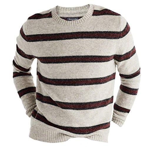 abercrombie-fitch-sudadera-rayas-cuello-redondo-manga-larga-para-hombre-rojo-burgundy-stripe-large