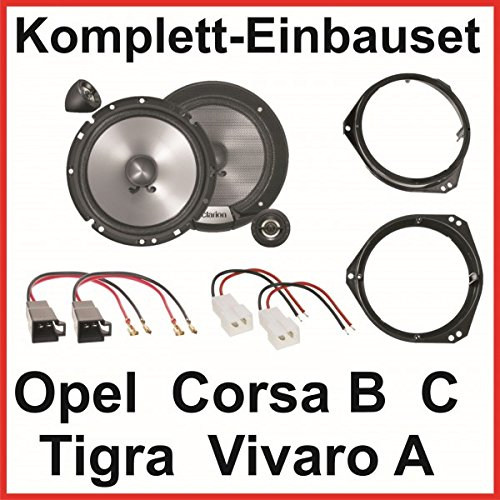 Lautsprecher Set Corsa B C Tigra Vivaro A Clarion SRG1723S 2 Wege System vorne