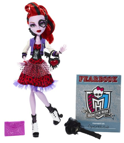 Monster High-bbj70-Puppe Ankleidepuppe-Picture Day-Operetta (Monster High Puppe Picture Day)