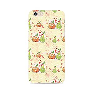 RAYITE Apple and Pear Premium Printed Mobile Back Case For Apple iPhone 6 Plus/6s Plus