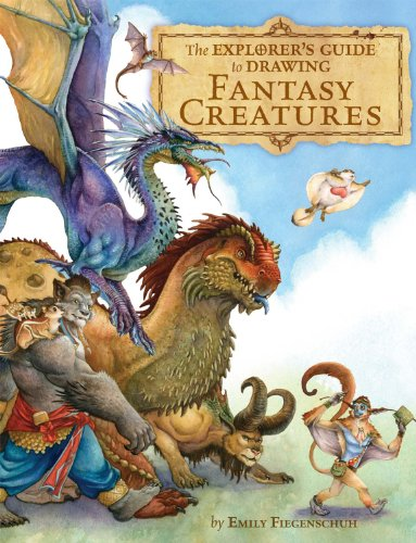 The Explorer's Guide to Drawing Fantasy Characters por Emily Fiegenschuh