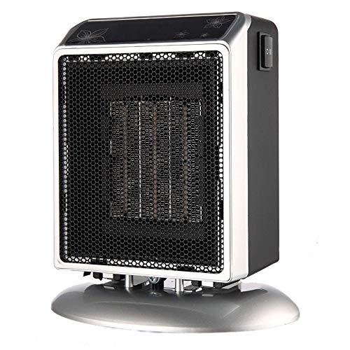 DNPOOK Calefactor Cerámico, 400W/900W Bajo Consumo Eléctrico Portátil de Aire Caliente, Sensor Antivuelco...