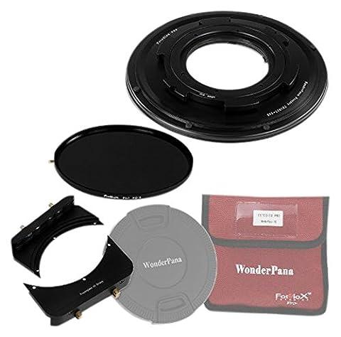 WonderPana 66 FreeArc ND 0.9HE Kit Essentiel - Rotatif Porte-filtre, Bouchon d'Objectif, et Filtres Fotodiox Pro 6.6