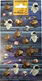 Disney Walle and Eve - Shaped Mini Stickers