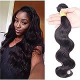 Best Relaxer cheveux pour cheveux noirs - Richair 100% Human Hair 1Bundles Tissage Indien Ondule Review