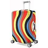 Pacchetto:  1 * custodia bagagli  100% brandnew, alta qualità, resistente e lavabile  Made of materials superiori ed elastici: 85% poliestere e 15% Spandex.  Proteggere il tuo bagaglio dai graffi, dalla polvere e dalla macchia.  Il design un...