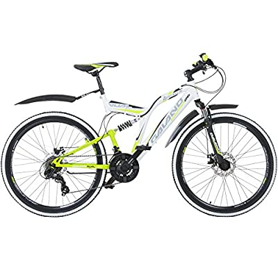 Galano 26 Zoll MTB Fully Volt DS Mountainbike Scheibenbremsen Jugendfahrrad