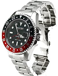 Nautec No Limit Gents Watch Deep Sea Ds Gmt/Strdbk