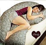 Coozly Premium Beige Pregnancy U Pillow With Fine Pregnocare Fibres U32 (Wgt-4.5 Kg)