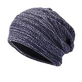 KPPONG Heißer Männer Frauen Baggy Winter Wolle Stricken Gestrickte Ski Warm Crochet Beanie Schädel Slouchy Caps Hut