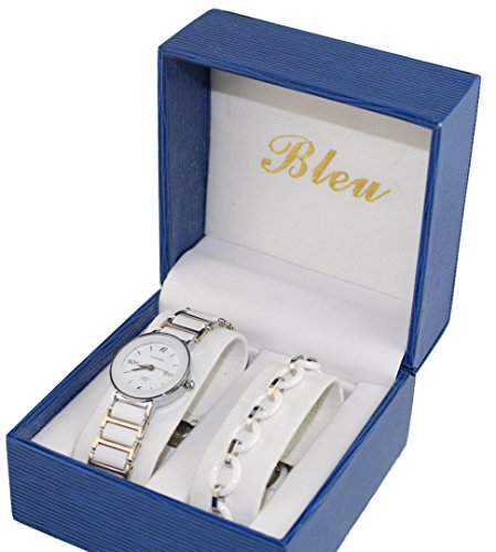 pack-montre-femme-blanche-bracelet-ceramique-collection-dolce-vita