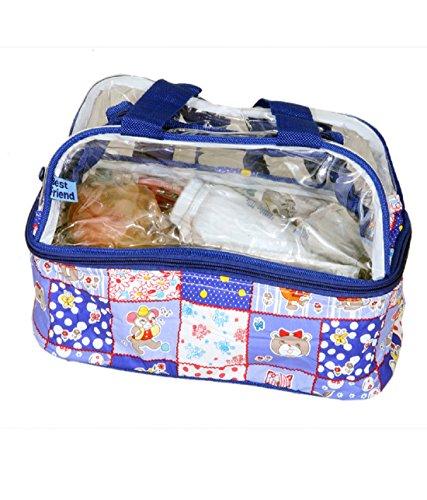 kuwer Industries Reisen Tasche, Mehrzweck-Tasche, Baby Tasche in Importiert Material (27,9x 12,7x 22,9cm)