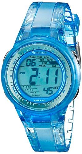 armitron-sport-45-7051blu-montre-bracelet-femme-resine-bleu