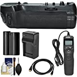 Vivitar MB-D18 Pro Series Multi-Power Battery Grip For Nikon D850 DSLR Camera With EN-EL15 Battery Charger + Remote + Kit