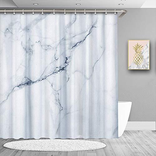 True Urlaub Wasserdicht Duschvorhang, Polyester Badezimmer Dusche Vorhang Stoff Baden Vorhänge 180x 180cm/182,9x 182,9cm X-008