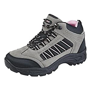 51DvFqDZNJL. SS300  - WOMENS GIRLS HIKING WALKING TRAIL TREKING RAMBLING BOOTS SHOES SIZE 3 - 8
