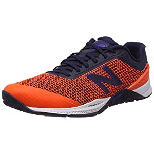 New Balance Men Mx40V1 Fitness Shoes, Orange (Orange), 44.5 EU (10 UK)