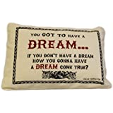 Have a Dream Cotton Cushion, By White Candle Company
