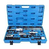 GOTOTOP 40 Stücke Injector Extractor Abzieher Set Auszieher Werkzeug für Diesel, Komm mit Blue Carry Box