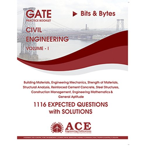 GATE 2018 CIVIL Engg Practice Book volume 1, 1116 Expected Questions with solutions  available at amazon for Rs.300