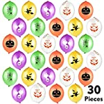 TUPARKA Halloween Punch Balloons for Halloween Party Favor Supplies Decorations, Trick or Treat Toys Halloween for Kids, School Classroom Game Prize, Halloween Party Bag Fillers (30 Pcs)