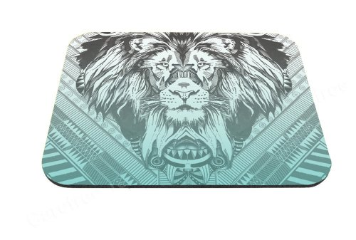 Good-will - Tribal Lion Design Mouse Pad Anti-slip Mouse Pad Mat Mice Mousepad