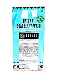Kamalu Readymade Soapnut Pouches for Washing Machine(4 pouches x 2 )(32-48 easy loads).Natural Laundry Soap