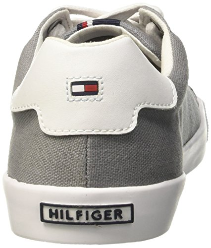Tommy Hilfiger Sm V2285olley 5c, Low-Top Chaussures homme Jaune (Light Grey 051)