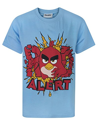 Image of Angry Birds Red Alert Boy's T-Shirt (7-8 Years)