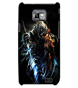 ColourCraft Dark King Design Back Case Cover for SAMSUNG GALAXY S2 I9100