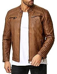 timeless design 4dd4d 75948 Amazon.it: Marrone - Giacche e cappotti / Uomo: Abbigliamento