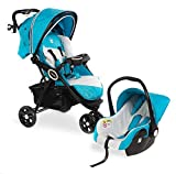 Froggy 2 in1 Kombi-Kinderwagen DINGO Kinderbuggy mit Autositz Set Kinderwagen Buggy Jogger...