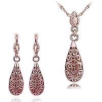 SheClub® perle gioielli set 18K Placcato Gioielli