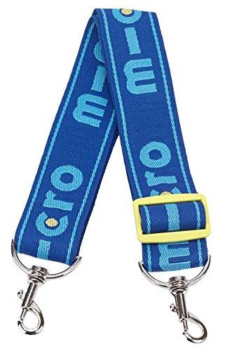 Micro Lanière de Transport Pour trottinette 2 roues - Bleu - Scooter Blau Micro Sprite