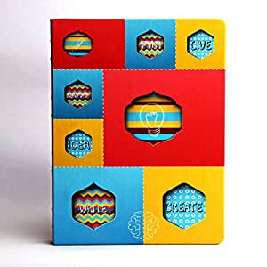 Doodle Thought Bubble Planner Notebook - B5, 80GSM, 200 Pages (Multicolor)