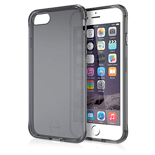 ITSKINS Apple iPhone 7 SPECTRUM Silikon Schutzhülle Transparent Schwarz ZERO GEL Schwarz iPhone 7