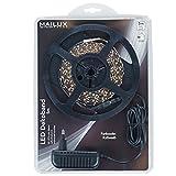 MAILUX LED Flex Band | selbstklebend | Kaltweiß | Striplight-Set | Strip Band Leiste Streifen Lichterkette Lichtschlauch | 5m | Komplettset