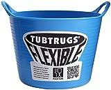 Tubtrugs Cubo Flexible, Azul, 9.5x9.5x7 cm, SPMICRO.BL