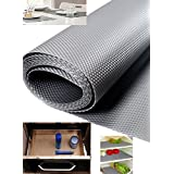 Skywalk Multipurpose Textured Super Strong Anti-Slip Eva Ma, Size Full 5 Mtr Length(Color Silver Grey)