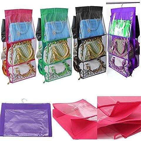 pocket colgando del monedero del bolso ordenado del almacenaje del organizador del armario ropero percha