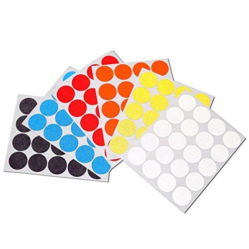 20-reflektierende-punkte-zum-aufkleben-fur-fahrrad-kinderwagen-helm-geocaching-verschiedene-farben-s