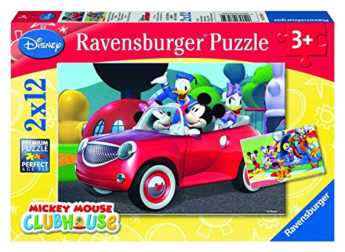 �–07565Kind Classic–Mickey Maus, Minnie Maus und Freunde–2x 12Teile (Mickey Maus-freunde)
