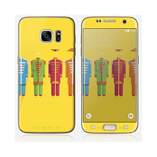 Sticker iPhone 5C de chez Skinkin - Design original : The Beatles par Frederico Birchal Skin Samsung Galaxy S7 Edge