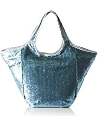 XYXYX Damen Sequins Bag Umhängetasche, 11x40x61 cm