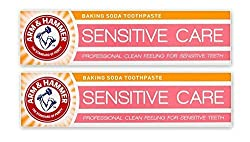 Arm & Hammer Sensitive Care Baking Soda Toothpaste Gentle Deep Clean Paste For Teeth