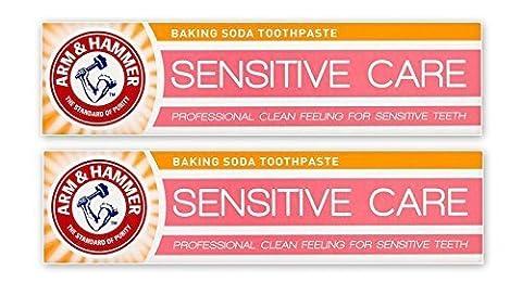 Arm & Marteau Sensible Soin Bicarbonate De Soude Dentifrice Doux Nettoyage En Profondeur Pâte pour dents