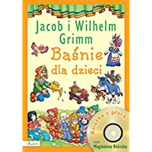 Basnie dla dzieci Jacob i Wilhelm Grimm Ksiazka z plyta