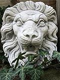 Antikas Großer Löwenkopf | Aus Stein | Wasserspeier | Brunnen Dekoration Wie Antik